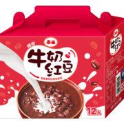 綿密牛奶紅豆湯禮盒
