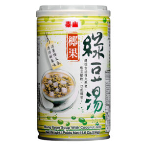 泰山椰果綠豆湯 Taisun Green Beans Soup with Coconut Jelly