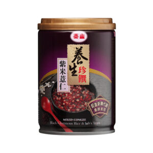 養生珍饌紫米薏仁 Pearl Barley with Black Glutinous Rice