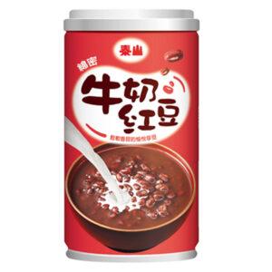 泰山綿密牛奶紅豆湯