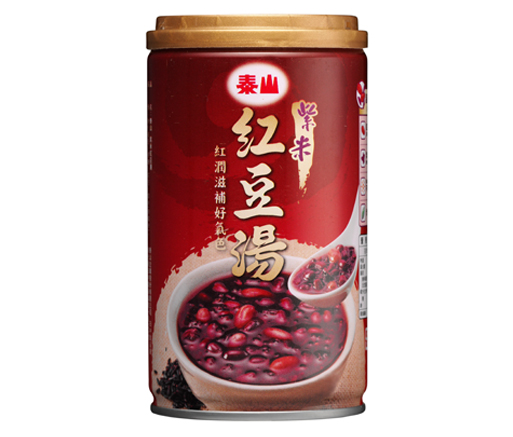 purple rice red bean