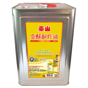 泰山金酥耐炸油18L Commercial purpose–Blended frying oil